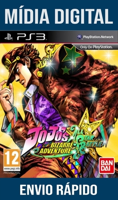 Jojos Bizarre Adventure All Star Battle Ps3 Psn Mídia Digital