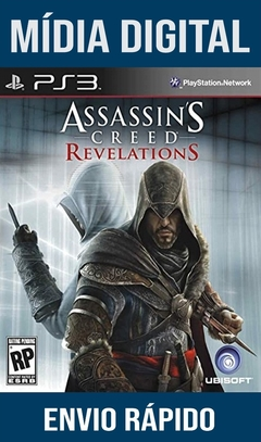Assassins Creed Revelations Ps3 Psn Mídia Digital (Leg Br)