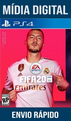 Fifa 2020 Ps4 Psn Original 1 Mídia Digital (Dub Br)