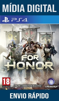 For Honor Ps4 Psn Original 1 Mídia Digital (Dub Br)