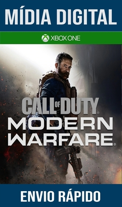 Call Of Duty Modern Warfare Xbox One Primária Mídia Digital (Dub Br)