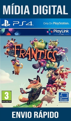 Frantics Ps4 Psn Original 1 Mídia Digital (Dub Br)