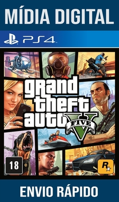 Gta 5 Ps4 Psn Original 1 Mídia Digital (Leg Br)