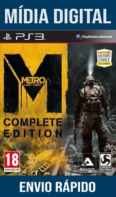 Metro Last Light Complete Edition Ps3 Psn Mídia Digital