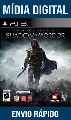 Middle-Earth Shadow Of Mordor Ps3 Psn Mídia Digital