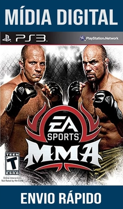 MMA Ps3 Psn Mídia Digital