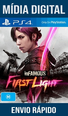 Infamous First Light Ps4 Psn Original 1 Mídia Digital (Dub Br)