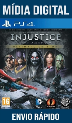 Injustice Gods Among Us Ultimate Edition Ps4 Psn Original 1 Mídia Digital (Dub Br)