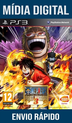 One Piece Pirate Warrios 3 Ps3 Psn Mídia Digital
