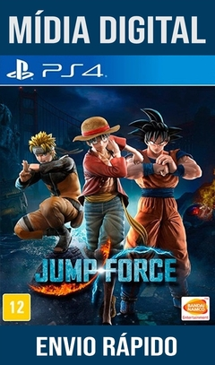 Jump Force Ps4 Psn Original 1 Mídia Digital (Dub Br)