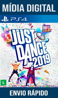 Just Dance 2019 Ps4 Psn Original 1 Mídia Digital (Dub Br)