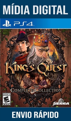 Kings Quest The Complete Collection Ps4 Psn Original 1 Mídia Digital