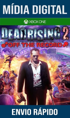 Dead Rising 2 Off The Record Xbox One Primária Mídia Digital