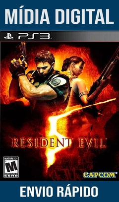 Resident Evil 5 Ps3 Psn Mídia Digital