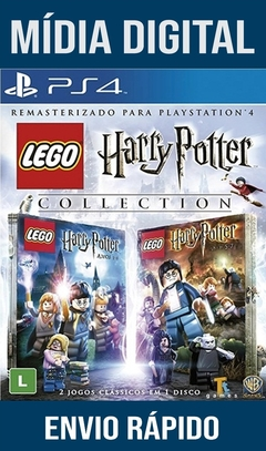 Lego Harry Potter Collection Ps4 Psn Original 1 Mídia Digital (Leg Br)