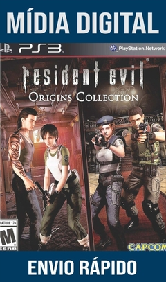 Resident Evil Deluxe Origins Collection Ps3 Psn Mídia Digital