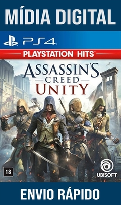 Assassin's Creed Unity  Ps4 Psn Original 1 Mídia Digital (Dub Br)