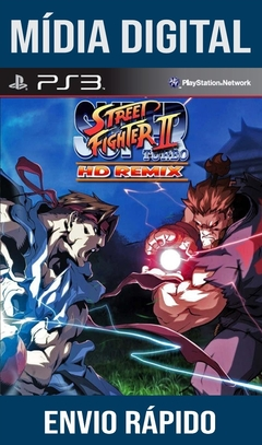 Street Fighter 2 Turbo HD Remix Ps3 Psn Mídia Digital