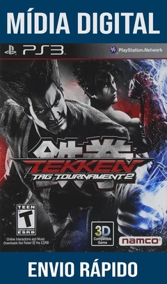 Tekken Tag Tournament 2 Ps3 Psn Mídia Digital