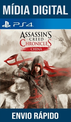 Assassins Creed Chronicles China Ps4 Psn Original 1 Mídia Digital (Leg Br)