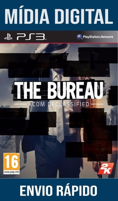 The Bureau Xcom Declassified Ps3 Psn Mídia Digital