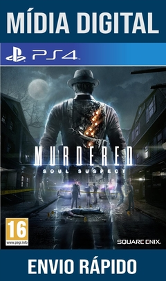 Murdered Soul Suspect Ps4 Psn Original 1 Mídia Digital