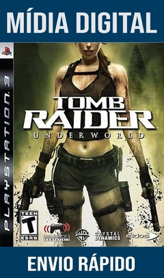 Tomb Raider Underworld Ps3 Psn Mídia Digital
