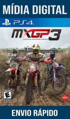 MXGP3 Ps4 Psn Original 1 Mídia Digital
