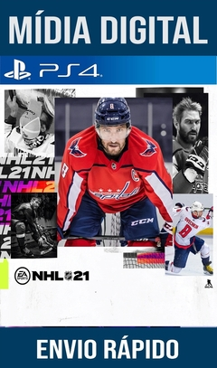 NHL 21 PS4 PSN Original 1 Mídia Digital