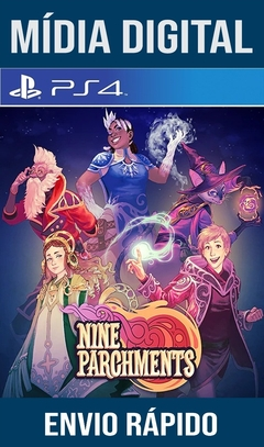 Nine Parchments Ps4 Psn Original 1 Mídia Digital