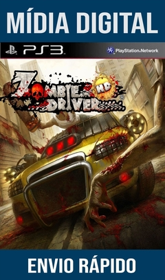 Zombie Driver HD Ps3 Psn Mídia Digital
