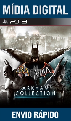 Batman Arkham Collection Ps3 Psn Mídia Digital