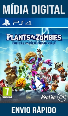 Plants Vs Zombies Battle For Neighborville Ps4 Psn Original 1 Mídia Digital (Dub Br)