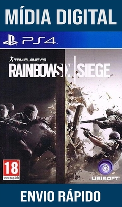 Tom Clancy's Rainbow Six Siege Ps4 Psn Original 1 Mídia Digital