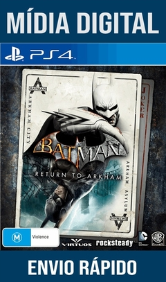 Batman Return To Arkham Ps4 Psn Original 1 Mídia Digital