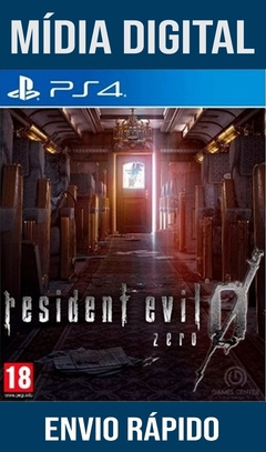 Resident Evil 0 Zero Ps4 Psn Original 1 Mídia Digital