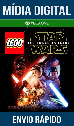 Lego Star Wars The Force Awakens Xbox One Primária Mídia Digital
