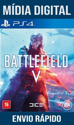 Battlefield V Ps4 Psn Original 1 Mídia Digital (Dub Br)