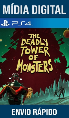 The Deadly Tower Of Monsters Ps4 Psn Original 1 Mídia Digital