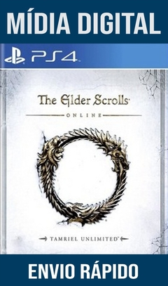 The Elder Scrolls Online Ps4 Psn Original 1 Mídia Digital