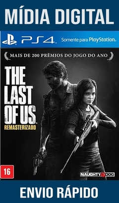 The Last of Us Remastered Ps4 Psn Original 1 Mídia Digital (Dub Br)