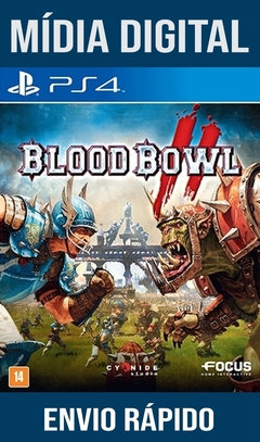 Blood Bowl II Ps4 Psn Original 1 Mídia Digital