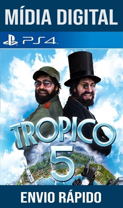 Tropico 5 Ps4 Psn Original 1 Mídia Digital