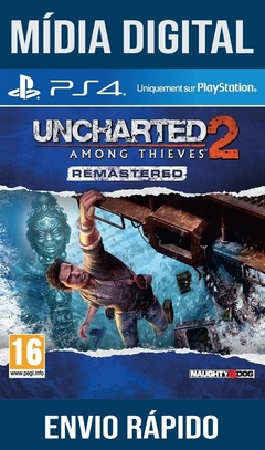 Uncharted 2 Among Thieves Remastered Ps4 Psn Original 1 Mídia Digital (Dub Br)