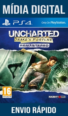 Uncharted Drake's Fortune Remastered Ps4 Psn Original 1 Mídia Digital (Dub Br)
