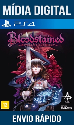 Bloodstained Ritual Of The Night Ps4 Psn Original 1 Mídia Digital