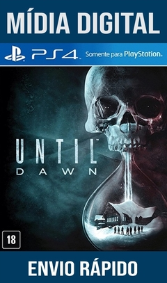 Until Dawn Ps4 Psn Original 1 Mídia Digital (Dub Br)