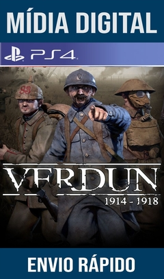 Verdun 1914-1918 Ps4 Psn Original 1 Mídia Digital (Leg Br)