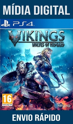 Vikings Wolves Of Midgard Ps4 Psn Original 1 Mídia Digital