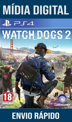 Watch Dogs 2 Ps4 Psn Original 1 Mídia Digital (Dub Br)